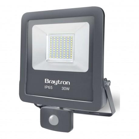 Proiector cu LED 30W SMD 6500k cu senzor