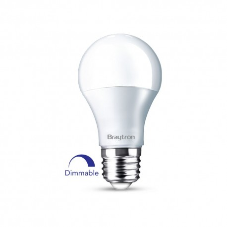 Bec Led 10W Dimabile, A60 6400K E27
