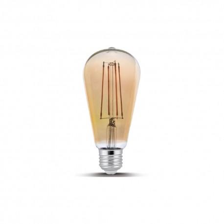 Bec Led Decorativ Filament 4w ST64 2000k E27