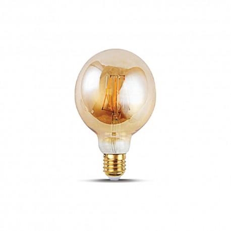 Bec Led Decorativ Filament 4w G95 2000k E27