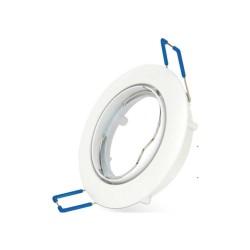 Carcasă albă ptr. GU5.3, 2 buc./cutie, SPOTTI-R