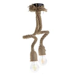 Lustra Cojom Double rope, Sfoara, Maro, 8?8?75 cm