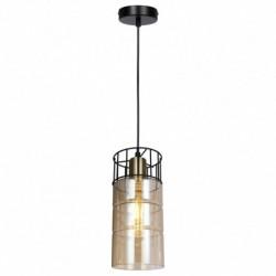 Pendul Ideal KL111054, 1 x E27, negru / bronz + fumuriu